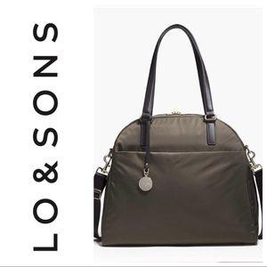 Lo & Sons OG Medium Olive Army Green travel bag